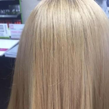 лечение волос результат