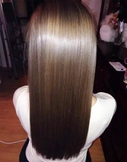волосы результат
