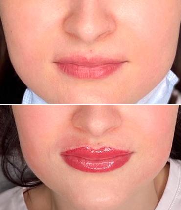 Перманентный макияж губ - фото 1