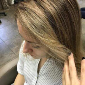 Окрашивание волос фото 2