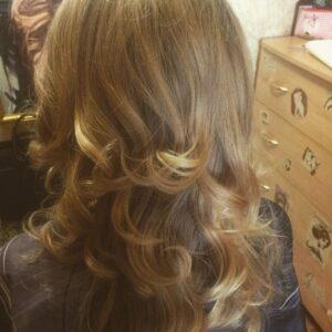 Окрашивание волос фото 11