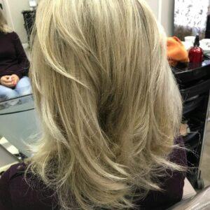 Окрашивание волос фото 31