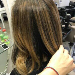 Окрашивание волос фото 77