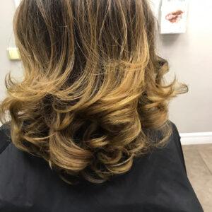 Окрашивание волос фото 100