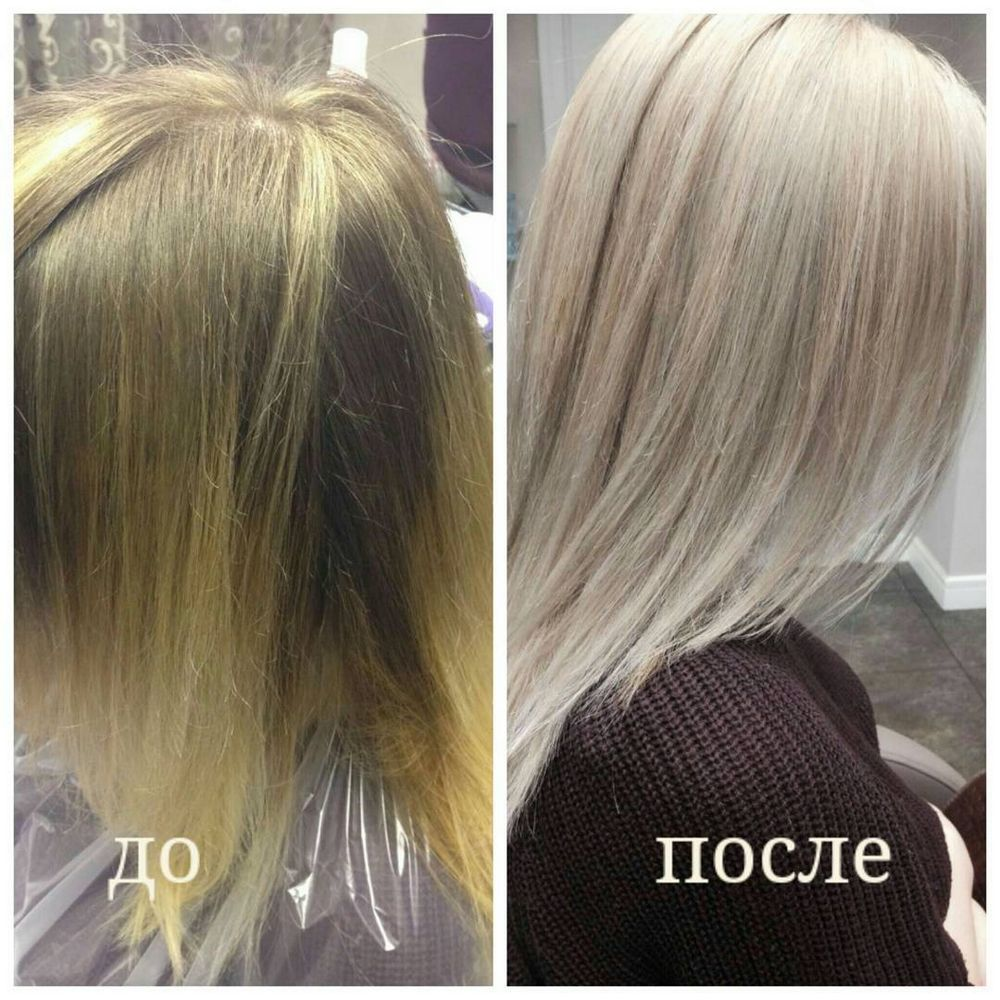 Окрашивание волос Wella - фото 6